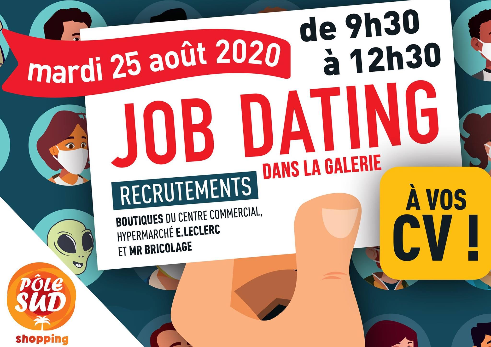 job dating pole sud