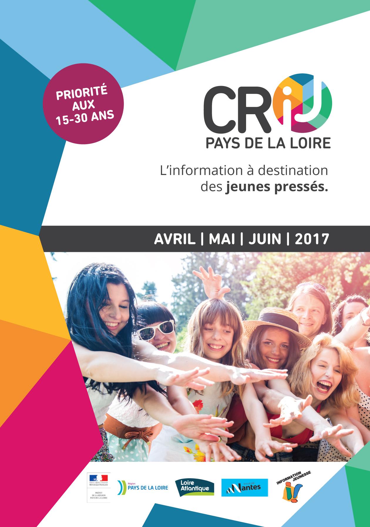 Programme d'animations au CRIJ de Nantes 2ème trimestre 2017