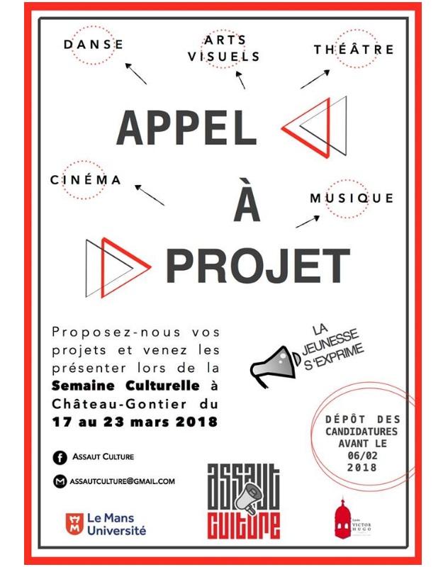 Appel à projets : Assaut culture 2018