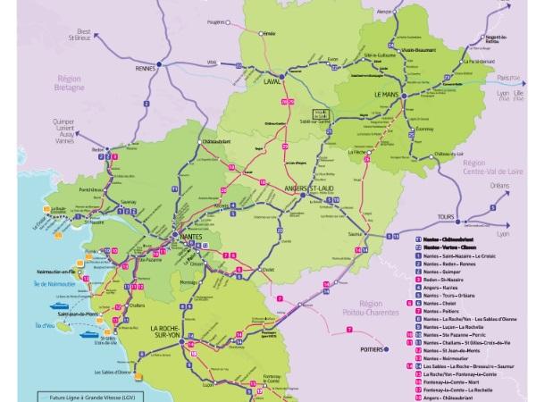 Les cars TER du réseau SNCF