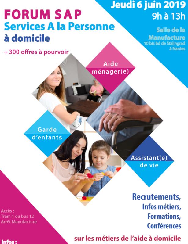 Forum SAP : Service A la Personne   Nantes   CRIJ Pays de la