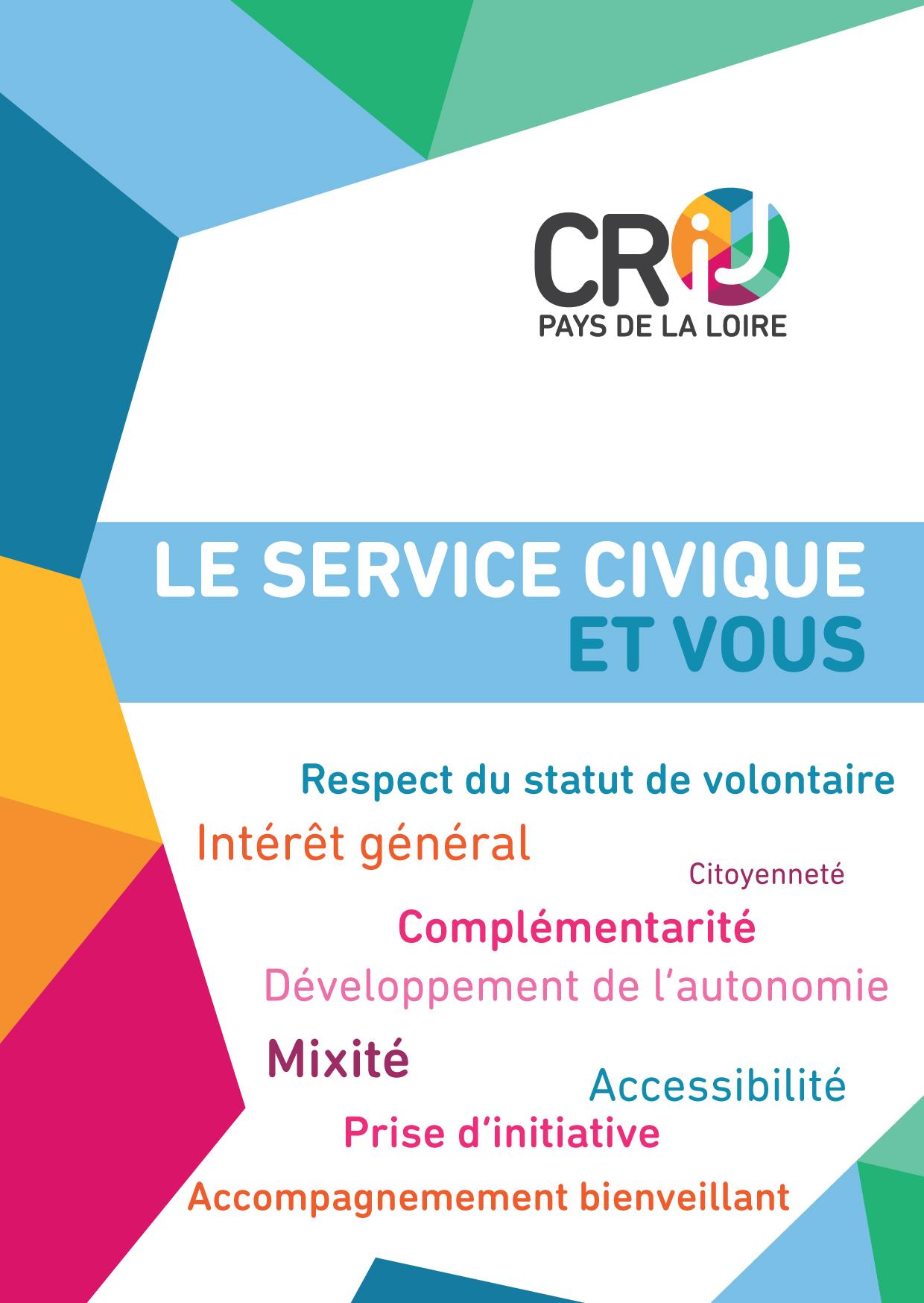 Le Service Civique En Pays De La Loire Une Autre Forme D