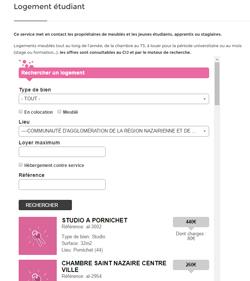 Module annonces CIJ Saint Nazaire