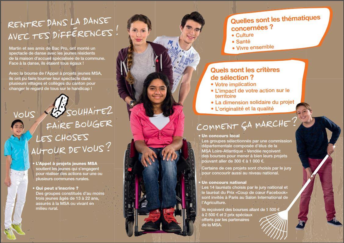 Appel à projets Jeunes MSA