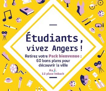 Pack Bienvenue étudiants - Angers