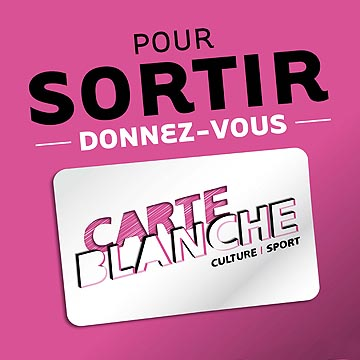 Carte blanche - Loisirs pas chers à Nantes