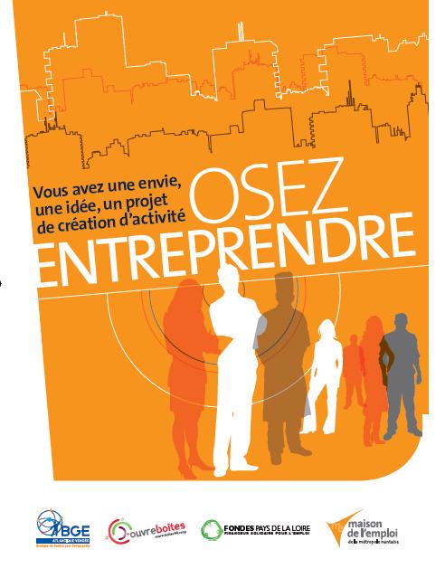 """""""Osez entreprendre"""" - Accompagnement à la création d'entreprise - Nantes métropole"""