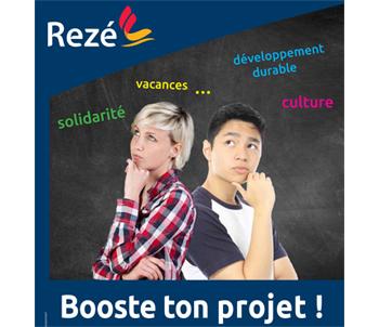 Booste ton projet - Aide pour les jeunes de Rezé