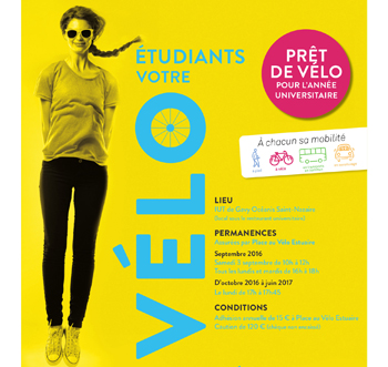 Prêt de vélos étudiants - Saint-Nazaire agglomération