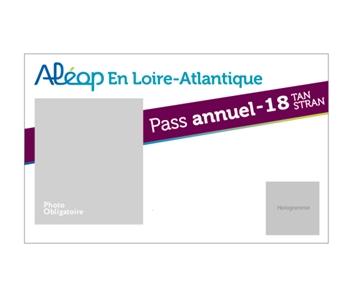 Abonnement Aléop en Loire-Atlantique - moins 18 ans