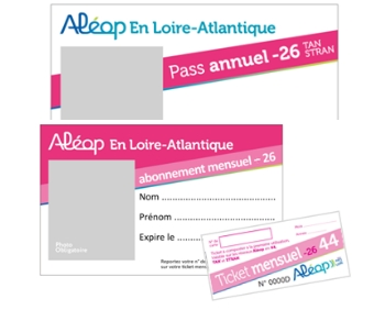 Abonnement Aléop en Loire-Atlantique - 18-25 ans