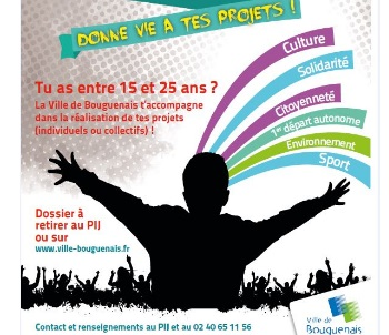 Bourse Initiatives Jeunes _ Bouguenais