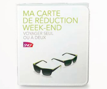 Carte de réduction Week-end - SNCF