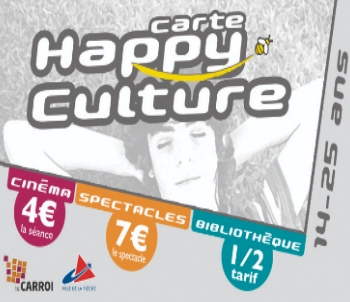 Carte Happy Culture La Flèche