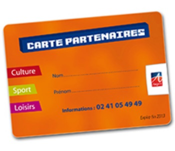 Carte Partenaires/Cezam - Angers