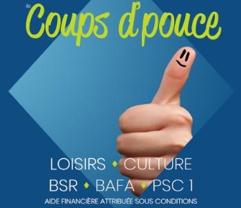 Coups d'pouce Doué en Anjou 2020-2021