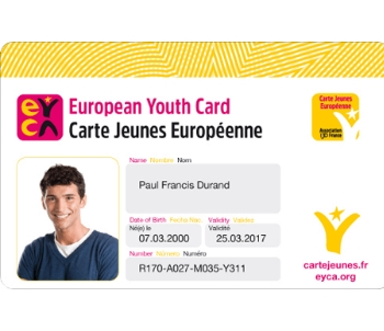 Carte jeunes européenne - European Youth Card