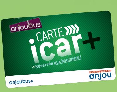 iCar+ - étudiants boursiers - Transports Maine et Loire