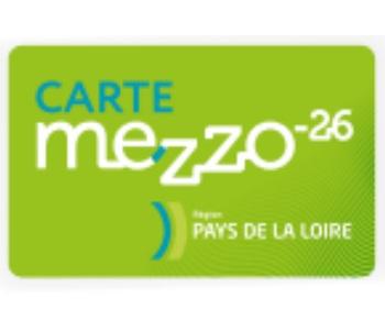 Carte Mezzo -26 Pays de la Loire