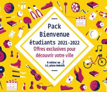 Pack de Bienvenue pour les étudiants Angevins 2021-2022