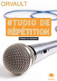 Studio répétition groupes de musique  - Orvault