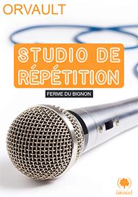 Studio répétition groupes de musique  - Orvault