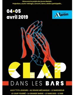 Clap dans les bars : 4-5 avril 2019 !