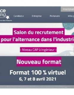Alternance Manufacturing 6 7 8 avril 2021_100% à distance__https://www.alternance-manufacturing.fr/