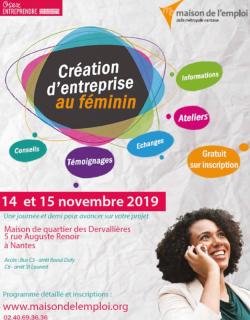 Création d'entreprise au féminin à Nantes