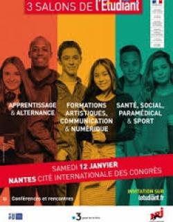 Salons de l'Étudiant 12 janvier 2019 Nantes_Cité internationale des Congrès