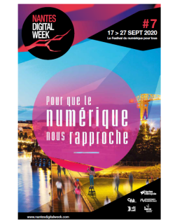 Nantes Digital Week_du 12 au 29 septembre 2020_https://www.nantesdigitalweek.com/