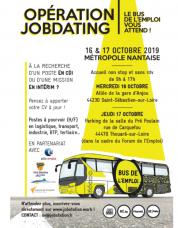 Opération jobdating sur le bus de l'emploi