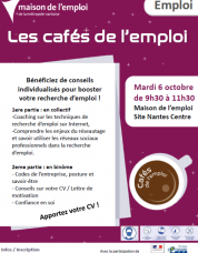 Café de l'emploi et speed dating à Nantes