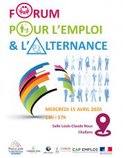 Forum pour l'emploi et l'alternance à Challans