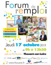 Forum de l'emploi à Thouaré