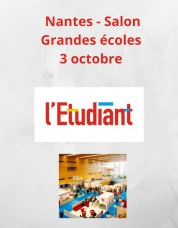 Salon des grandes écoles de l'Étudiant_Nantes_Cité des congrès_3 octobre 2020_https://www.letudiant.fr/etudes/salons/nantes-salon-grandes-ecoles.html