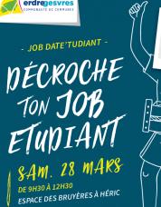 2ème édition du Job Date'Tudiant d'Erdre et Gesvres