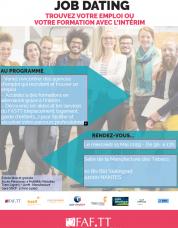 Intérim : forum de l'emploi et de la formation à Nantes