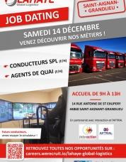 Jobdating Transports à St Aignan de Grand Lieu