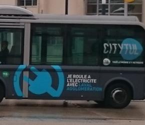 Prendre le bus à Laval