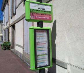 Prendre le bus à La Roche sur Yon