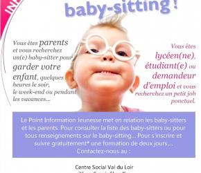 Service Baby-Sitting La Charte sur le Loir