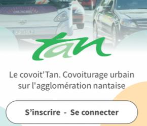 Covoit'Tan : un service de covoiturage de Nantes et agglo