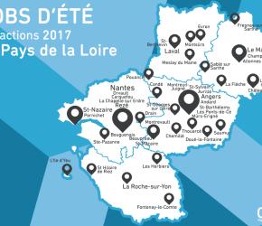 Actions jobs d'été 2017 en pays de la Loire