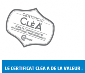 Le certificat CléA
