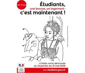 Dossier social étudiant_DSE 2018 2019_Demande bourse universitaire_Demande logement universitaire_CROUS_messervices.etudiant.gouv.fr