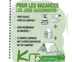 Kits camping pour les jeunes au Mans