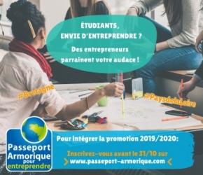 Passeport Armorique pour l'entrepreunariat