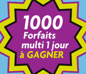 Bacheliers 2021 : 1000 Forfaits multi à gagner !
