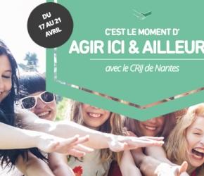 Semaine de l'engagement au CRIJ de Nantes